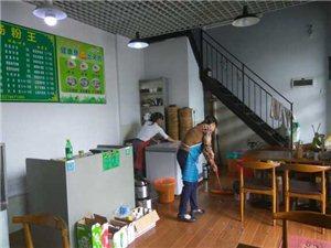 乐安人在深圳观澜开早餐店
