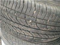 运动轮毂17口带四条夏季轮胎215.55R17