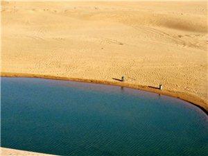 美丽的沙漠海子