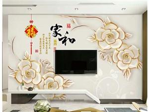 新房装修影视墙,泰安市区60元一平包安装