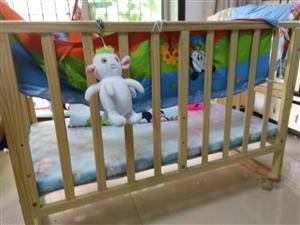 便宜转让婴儿车婴儿床