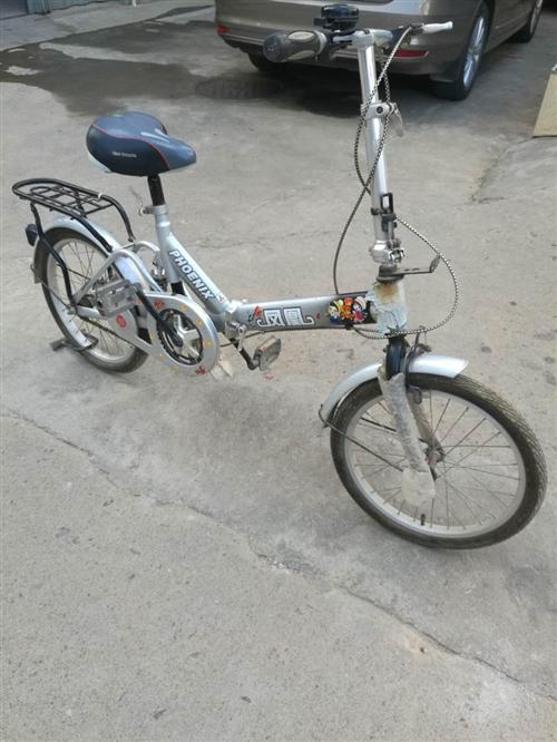 八成新凤凰自行车出售