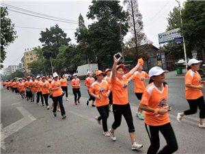 共建峡江新微马,巴邱镇微马人首跑仪式活动纪实。