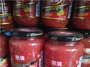 出售西紅柿醬和小米等農產品