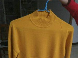 优质羊绒衫抵帐过来的羊绒衫,含绒量达90%,贴身穿舒服。这几款有别的颜色。一律50元一件。