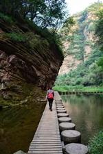 世界地质公园龙潭大峡谷