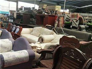 回收出售饭店设备家电家具办公用品超市货架...