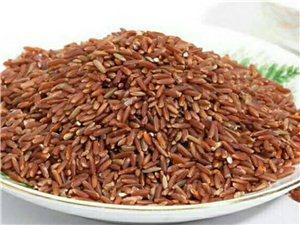 家鄉正宗紅米,無公害種植!對身體特別好!