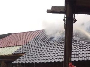 昨天下午1点多香屯水泥厂发生火灾!