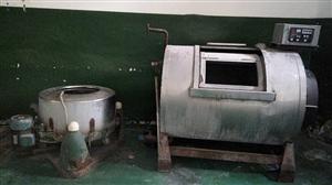 半自动洗衣机一台,风干机一台,燃气锅炉一...