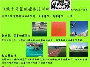 齐齐哈尔市飞跃篮球健身培训班招生