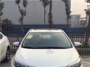 丰田雷凌2017款1.2T G CVT精英版