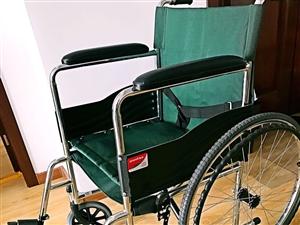轮椅【鱼跃品牌,95新】 购买于正规医...