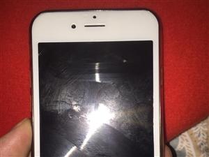 苹果6。 64G带指纹解锁金色
