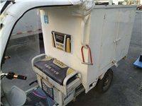 电动三轮车,箱式,2套电池,可跑75公里...