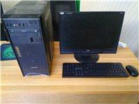 台式电脑及显示器,无线键盘,针及,式打印...