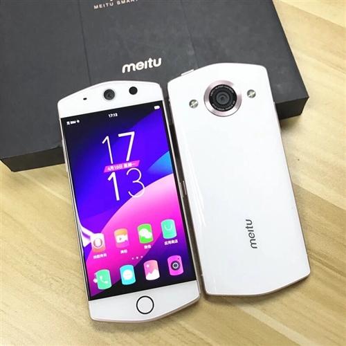 出售 美图M6s手机一部 白色 买来几个...