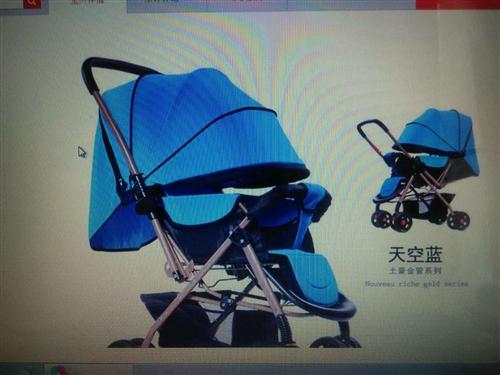宝宝推车,餐凳,背凳九成新。便宜转让。
