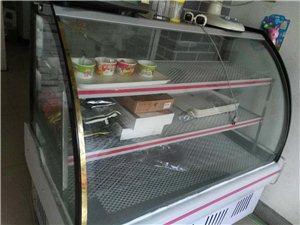 九成新展示柜凉菜柜,低价出售,偃师邙岭牛...