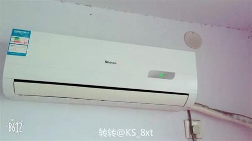 9成新大一匹空调,处理800要的速度联系