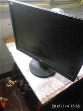 电脑显示屏一台九成新,19寸