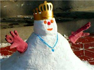 雪人,童趣,一起堆雪人啊!(二)