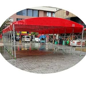 大悟二手宽5米,长6米伸缩篷低价出售。