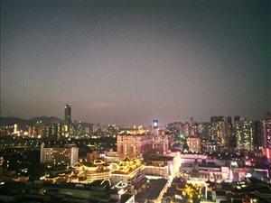 夜晚的深圳