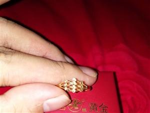 戒子是中国老牌黄金买的   项链是上海老庙黄金买的  牌子是卓尔珠宝  两件原价是6000多  现在...