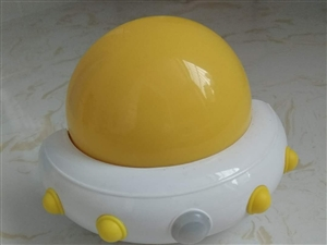 OneFire万火牌飞碟小夜灯,WH-LO506型号,黄色款,可遥控,配带遥控器,三档可控,一档下灯...
