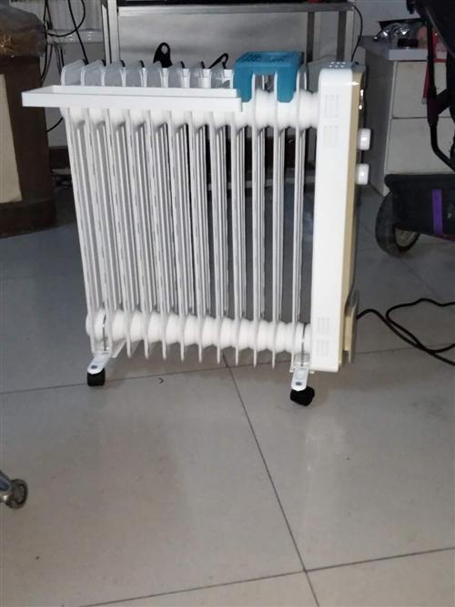 全新美的电热器NY2213-18GW2台,科大抵债所得