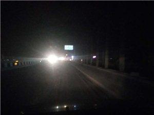 青州这条路修好一年了,还没安好路灯?!