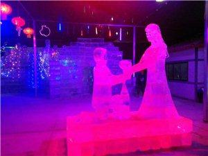 2018年1月26日植物园大型冰雕展开业