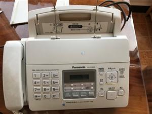 松下传真机,购买两年左右,使用频率非常低,叶子板已断裂!现因澳门网上投注平台注销低价处理。
