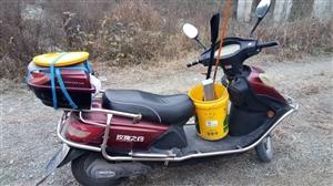 玫瑰之约,大电瓶,行程长,价格便宜,电动车很少用,只有偶尔赶集或钓鱼用,电瓶还有几天满一年了。