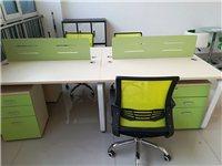 品牌办公家具,转椅6件,4人组合办公桌,小园桌1件,文件柜1组,九成新,出售。