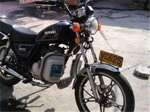 求购二手125的摩托车
