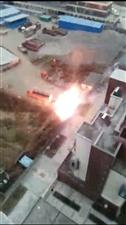澳门金沙平台娱乐县康城变压器第二次爆炸