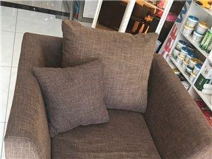 店里沙发1+1+2 95成新 转让 单人 长98.宽90 双人长220 宽90