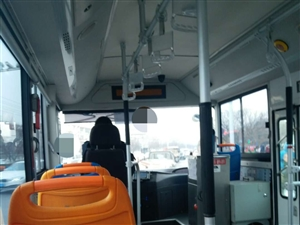 青州公交k18路大冷天的不开空调
