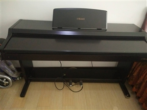 电钢琴,音质特别好,可以跟钢琴比美。