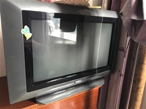 一台保养很好的旧款电视,闲置了很久,但没有质量问题,诚意转让