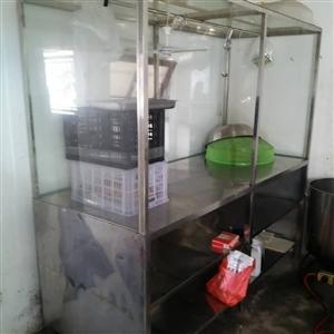 全新不锈钢熟食柜转让