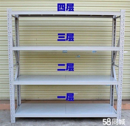 因店鋪裝讓,出售九成新貨架,規格2米×40公分六組,2米×60公分四組,安裝方便,結實牢固,便宜處理...