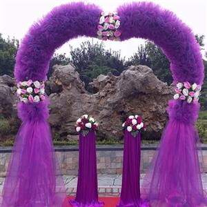 全新婚礼装饰,只用了两个小时   低价转让