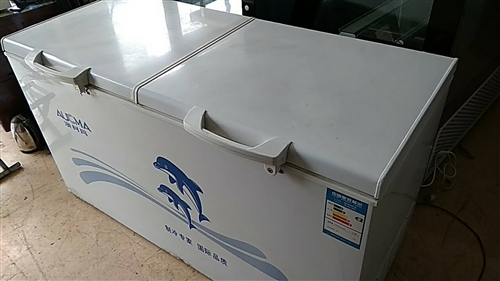 二手冰柜八成新,460升,售价1260元