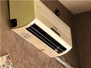 长虹牌1.5P挂式空调 7.8成新    地址富顺城西小学对面