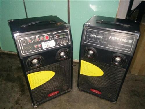 本人有一九成新音箱 , 现欲低价出售,有意者请致电联系。非诚勿扰。 联系电话    1869395...