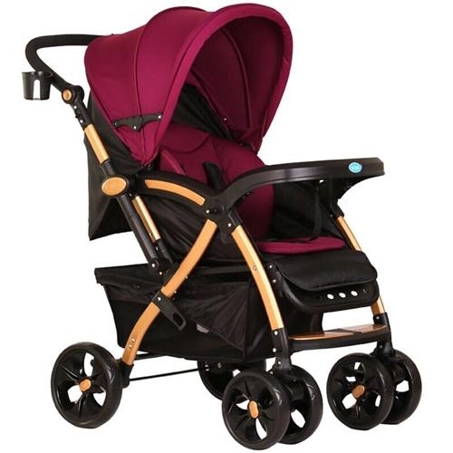 宝宝好高景观婴儿推车,可躺可坐,实体店买的,没下过楼,九成新,孩子大了用不到了,便宜出售微信号177...