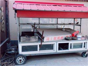 用一夏天,不锈钢面,便宜出售电话15083051165 另出售2米烧烤环保炉(无净化器)